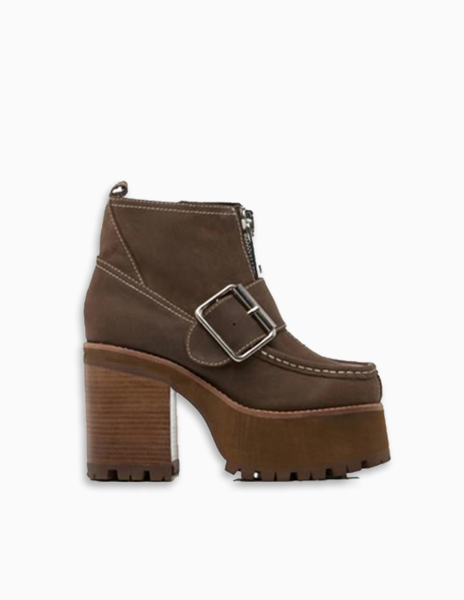 staley brown shoe | that chic shoe
