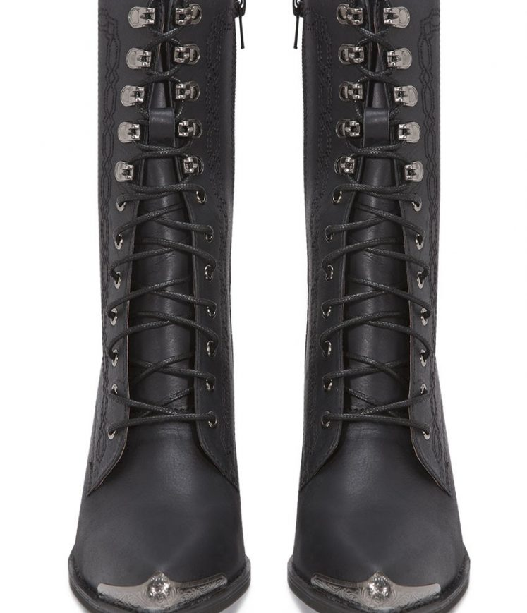 Boothe Boot Black Pair