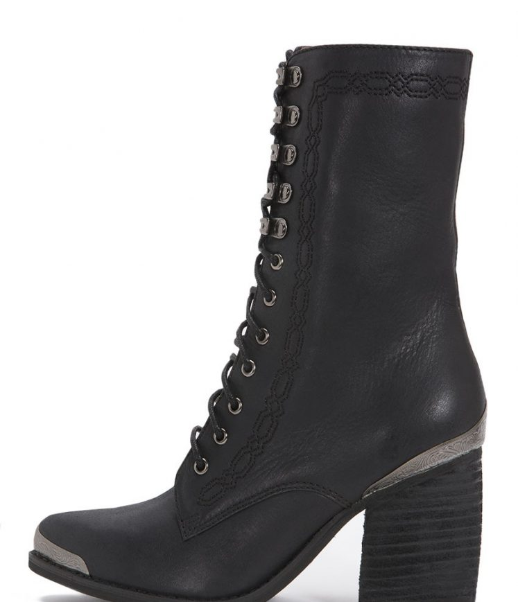 Boothe Boot Black Side