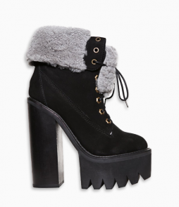 In Charge Boot Black